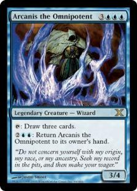 MtG 10th Edition Rare Arcanis the Omnipotent #66