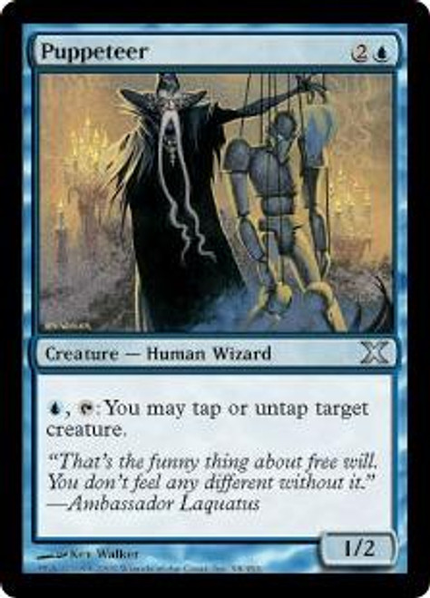MtG 10th Edition Uncommon Puppeteer #98