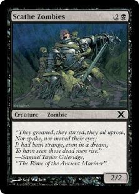 MtG 10th Edition Common Scathe Zombies #175