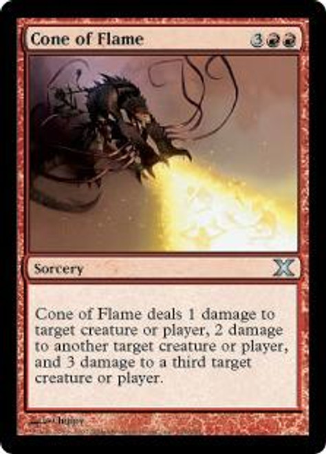 MtG 10th Edition Uncommon Cone of Flame #194