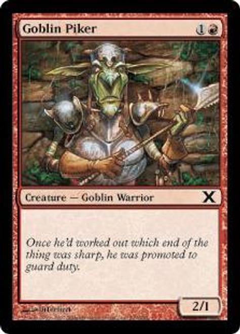MtG 10th Edition Common Goblin Piker #209