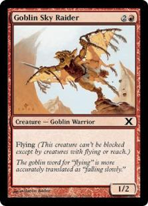 MtG 10th Edition Common Goblin Sky Raider #210