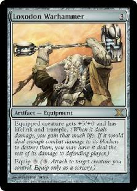 MtG 10th Edition Rare Loxodon Warhammer #332