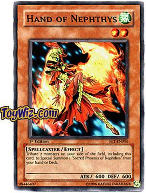 YuGiOh Flaming Eternity Common Hand of Nephthys FET-EN006