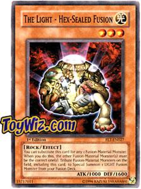 YuGiOh Flaming Eternity Common The Light - Hex - Sealed Fusion FET-EN027