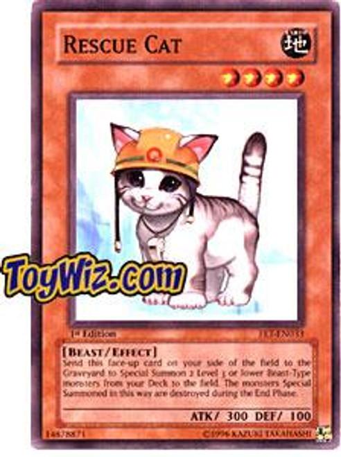 YuGiOh Flaming Eternity Common Rescue Cat FET-EN033
