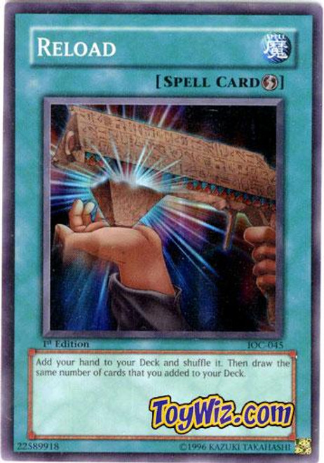 YuGiOh Invasion of Chaos Super Rare Reload IOC-045