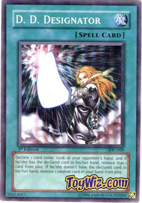 YuGiOh Invasion of Chaos Super Rare D.D. Designator IOC-039
