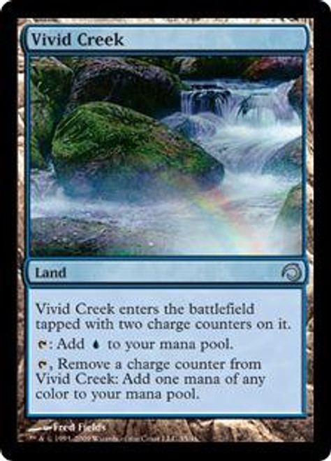 MtG Premium Deck Series: Slivers Uncommon Vivid Creek #35