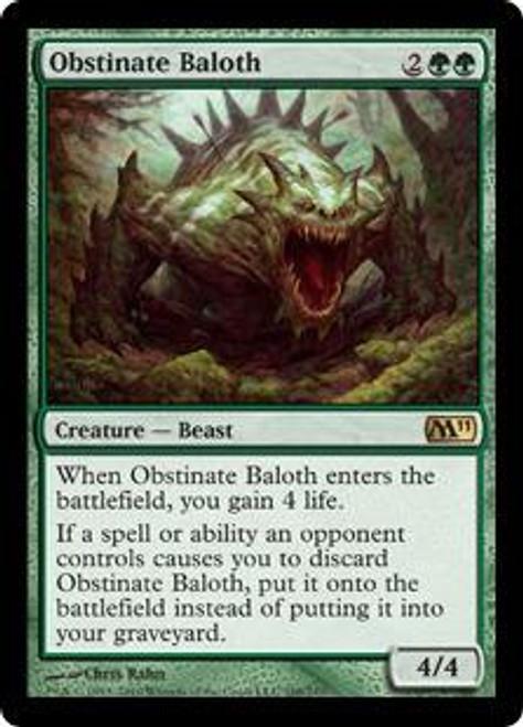 MtG Magic 2011 Rare Obstinate Baloth #188