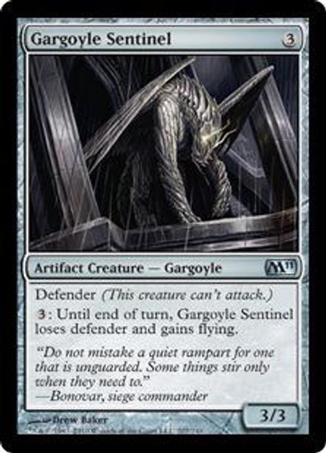 MtG Magic 2011 Uncommon Gargoyle Sentinel #207