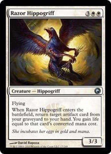 MtG Scars of Mirrodin Uncommon Razor Hippogriff #17