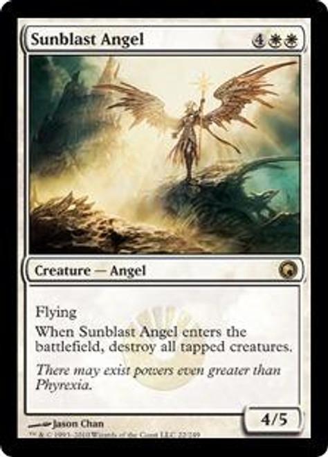 MtG Scars of Mirrodin Rare Sunblast Angel #22