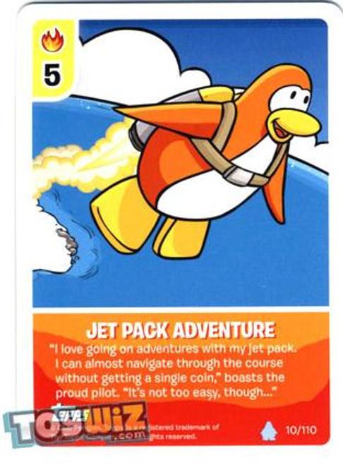 Club Penguin Card-Jitsu Basic Series 1 Common Jet Pack Adventure #10