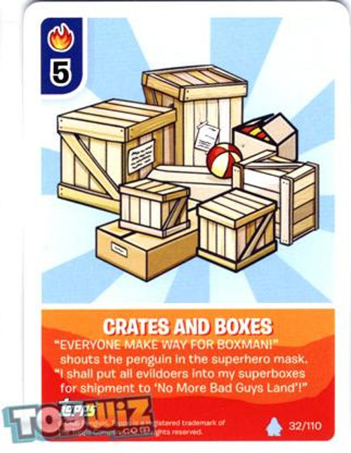 Club Penguin Card-Jitsu Basic Series 1 Common Crates and Boxes #32
