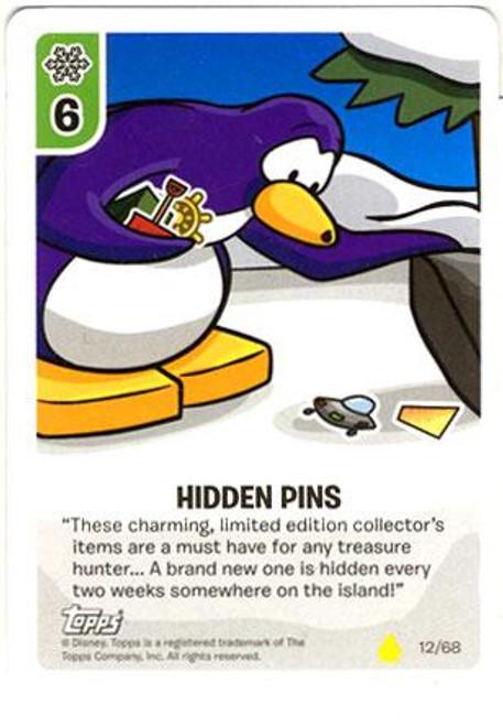 Club Penguin Card-Jitsu Basic Series 2 Common Hidden Pins #12