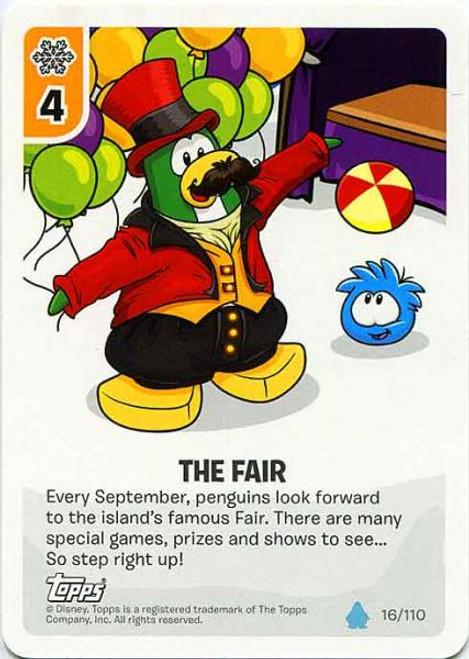 Club Penguin Card-Jitsu Water Series 4 Common The Fair #16