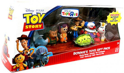 Toy Story 3 Bonnies Toys Gift Pack Exclusive Mini Figure Set