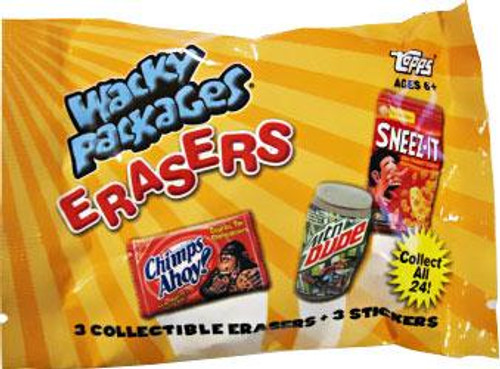 Wacky Packages Erasers Series 1 Complete Set