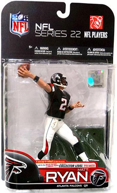 McFarlane Toys NFL Atlanta Falcons Sports Picks Series 22 Matt Ryan Action Figure [Black Jersey & White Pants]