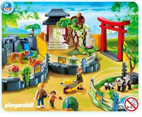 Playmobil Zoo Asian Animal Enclosure Set #4852
