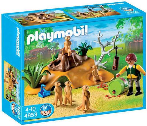 Playmobil Zoo Meerkat Family Set #4853