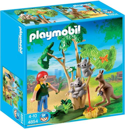 Playmobil Zoo Koala Bears with Kangaroo Set #4854