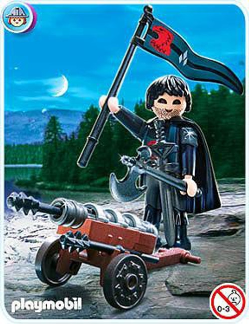 Playmobil Knights Falcon Knight Cannon Guard Set #4872