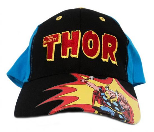 The Mighty Thor Baseball Cap [Black Front Panel]