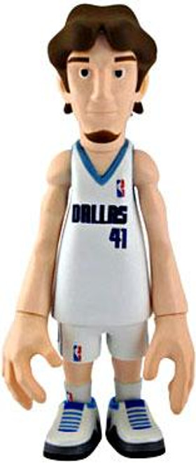 NBA Dallas Mavericks Series 1 Dirk Nowitzki Action Figure [White Uniform]