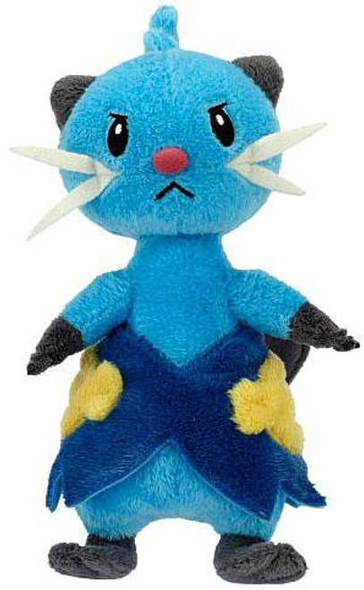 Pokemon Black & White Mini Plush Series 3 Dewott 6-Inch