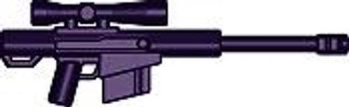 BrickArms Weapons HCSR High Caliber Sniper Rifle 2.5-Inch [Purple]
