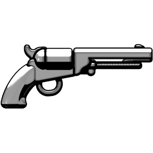 BrickArms Weapons M1851 Navy Revolver 2.5-Inch [Silver]
