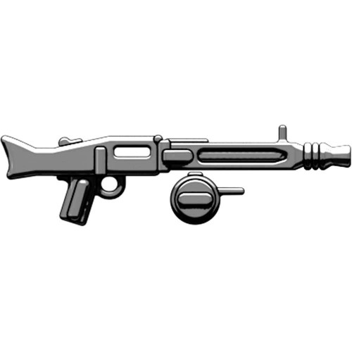 BrickArms Weapons MG-42 with Ammo Drum 2.5-Inch [Gunmetal Loose]