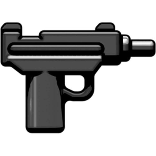 BrickArms Weapons Micro Uzi SMG 2.5-Inch [Black]