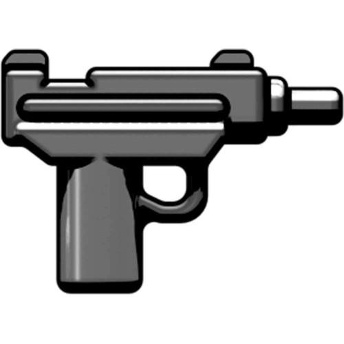 BrickArms Weapons Micro Uzi SMG 2.5-Inch [Gunmetal]