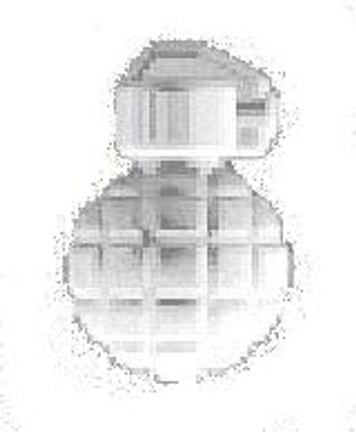 BrickArms Weapons Mk2 Grenade 2.5-Inch [Trans Clear]