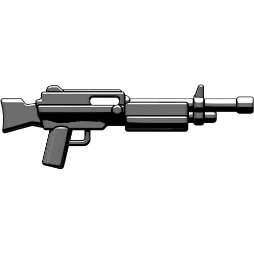 BrickArms Weapons Combat LMG 2.5-Inch [Gunmetal]