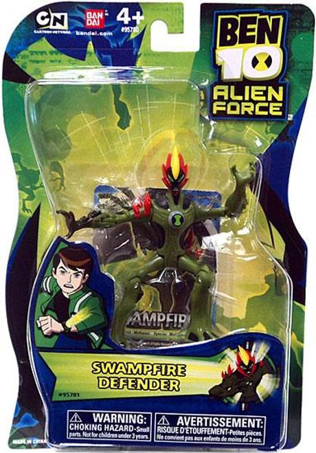 Ben 10 Alien Force Swampfire Action Figure [Defender, No Mini Alien]
