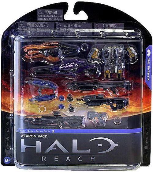 McFarlane Toys Halo Reach Series 5 Weapon Pack