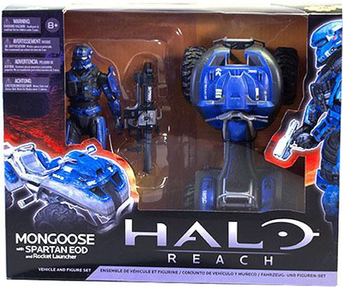 McFarlane Toys Halo Reach Multipacks Mongoose with Spartan EOD and Rocket Launcher