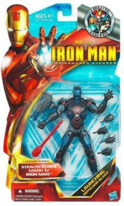 The Armored Avenger Legends Series 6 Stealth Strike Mark IV Iron Man Action Figure