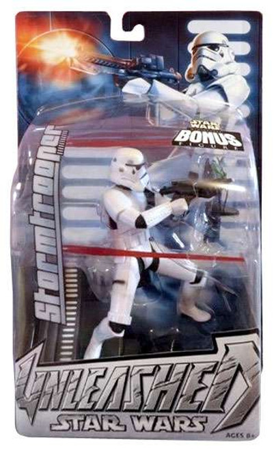 Star Wars A New Hope Unleashed Series 12 Stormtrooper Action Figure