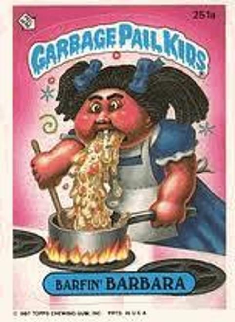 Garbage Pail Kids Original 1980's Series 7 Complete Set