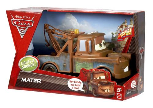 Disney Cars Cars 2 Lights & Sounds Mater Plastic Car