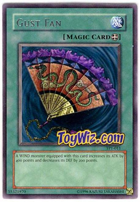 YuGiOh Tournament Pack 1 Rare Gust Fan TP1-011