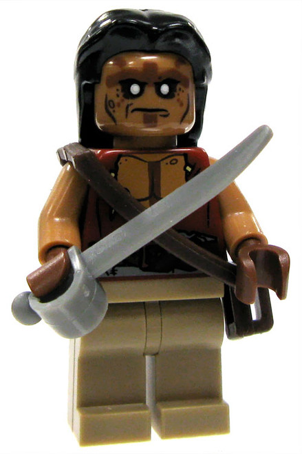 LEGO Pirates of the Caribbean Loose Blackbeard Pirate Minifigure #2 [Loose]