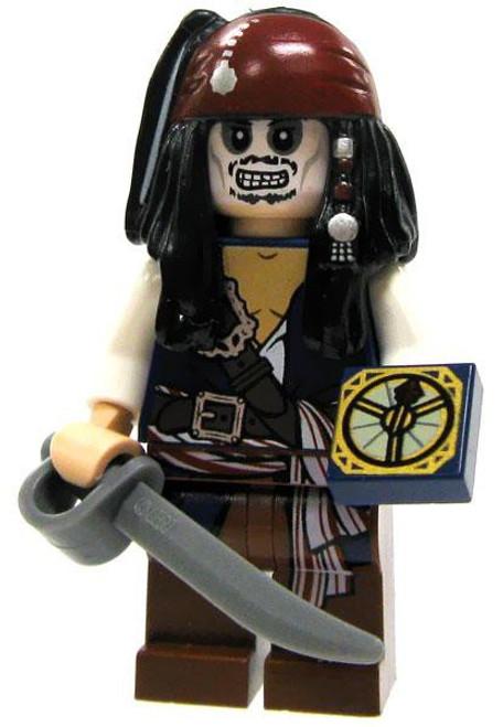 LEGO Pirates of the Caribbean Loose Cursed Jack Sparrow Minifigure [Loose]