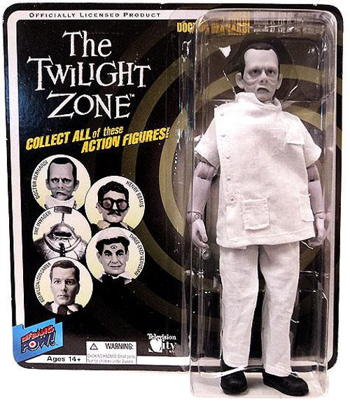 The Twilight Zone Series 4 Doctor Bernardi Action Figure