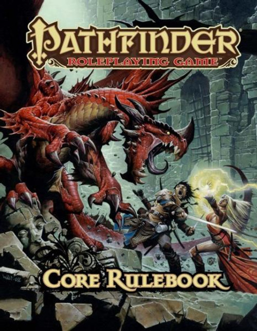 Pathfinder Core Rulebook Roleplaying Book